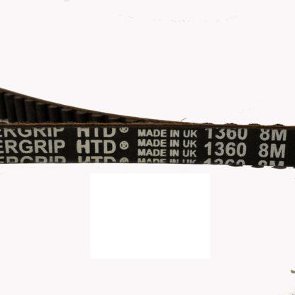 Courroie Kevlar STRIDA pour MAS avec 2 engrenages - 121-MAS - Ceinture Kevlar - Courroie - Deux vitesses - kevlar - MAS - strida