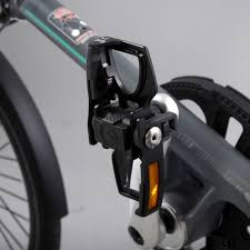 Alu Pedale in schwarz, klappbar - Fahrradpedal - Klapppedale - Pedale - ST-PDS-002