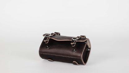 Leder Satteltasche, schwarz - Satteltasche - ST-SB-009 - strida - Tasche
