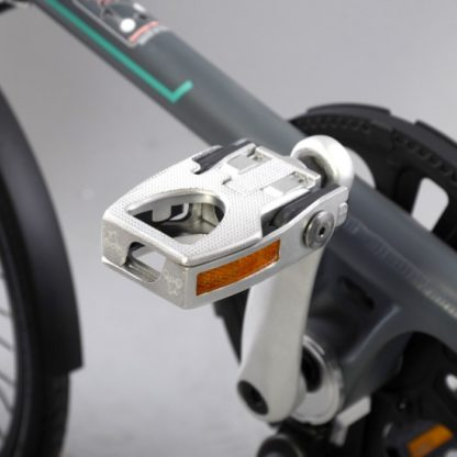 Silver aluminium STRIDA folding pedals - Bicycle pedals - Folding pedals - Pedals - ST-PDS-001