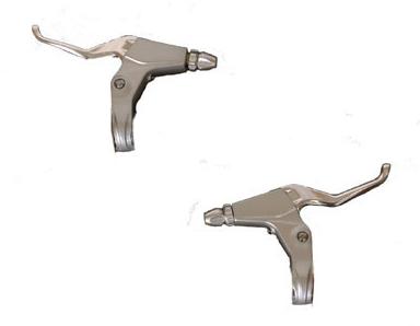 Bremshebelsatz in silber - 225-02-SL - Bremshebel