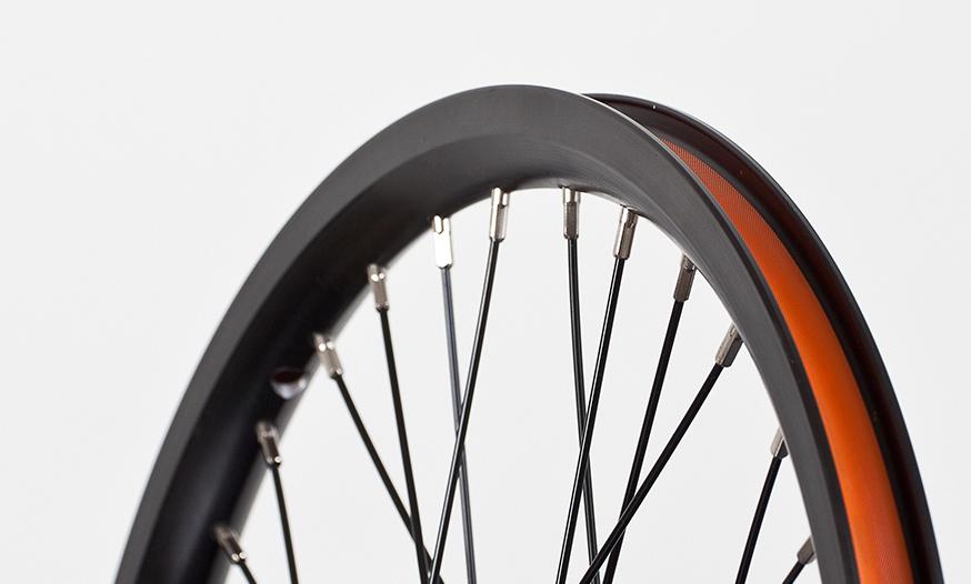 "black Strida 16/"" wheel set"