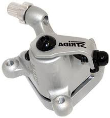 STRIDA Brake caliper FRONT, silver - 240-04-sol - Brake clamp - Brakes