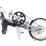 STRIDA Evo 3S Slick Silver - bike - Buy foldable bikes - Buy folding bicycle - Buy folding bike - Buy folding bikes - buying - collapsible bike - Design bike - Design folding bike - evo 3s - foldable bike - Folding bicycle - Folding bike - Folding bike shop - Folding bikes - for sale - Lightweight - new - shop - strida - Strida design folding bike - Sturmey archer - Three speed - Triangular - Triangular folding bike - Triangular shaped - unique folding bike