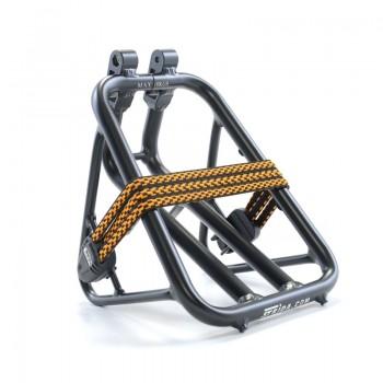 Zwarte aluminium bagagedrager met spanbanden - bagagedrager - ST-RK-002 - strida