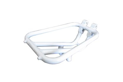 White aluminium STRIDA rear rack - rear rack - ST-RK-004 - strida