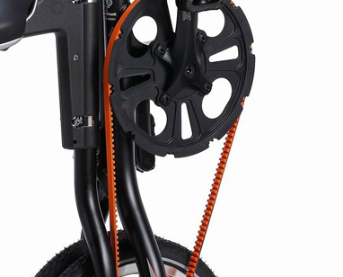 Orange STRIDA belt for STRIDA 3, 5, LT, SX and EVO - 121-OR - 5 - Belt - evo 3s - kevlar - kevlar belt - lt - Orange - strida - sx