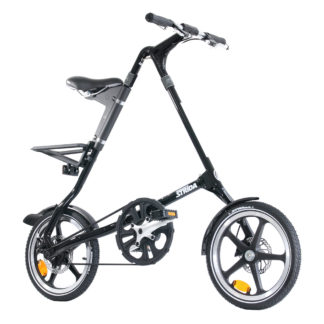 STRIDA LT Jet Black - 16 inch - bike - Buy foldable bikes - Buy folding bicycle - Buy folding bike - Buy folding bikes - buying - collapsible bike - Design bike - Design folding bike - foldable bike - Folding bicycle - Folding bike - Folding bike shop - Folding bikes - for sale - Lightweight - lt - new - shop - Single speed - strida - Strida design folding bike - Triangular - Triangular folding bike - Triangular shaped - unique folding bike