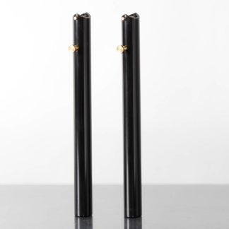Black STRIDA Handlebar set aluminium (left & right) - 215-03-BK - Handlebars
