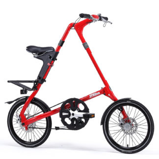 STRIDA SX Red Devil - 18 inch - bike - Buy foldable bikes - Buy folding bicycle - Buy folding bike - Buy folding bikes - buying - collapsible bike - Design bike - Design folding bike - foldable bike - Folding bicycle - Folding bike - Folding bike shop - Folding bikes - for sale - Lightweight - new - shop - Single speed - strida - Strida design folding bike - sx - Triangular - Triangular folding bike - Triangular shaped - unique folding bike
