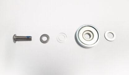 Magneet houder achter t.b.v. STRIDA Vouwfiets kit - 336-8 - magneethouder - strida