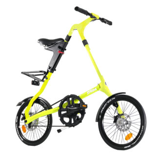 STRIDA SX Neon Venus - 18 inch - bike - Buy foldable bikes - Buy folding bicycle - Buy folding bike - Buy folding bikes - buying - collapsible bike - Design bike - Design folding bike - foldable bike - Folding bicycle - Folding bike - Folding bike shop - Folding bikes - for sale - Lightweight - new - shop - Single speed - strida - Strida design folding bike - sx - Triangular - Triangular folding bike - Triangular shaped - unique folding bike