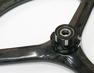 18-Zoll-Karbonradsatz mit Kojak-Reifen - Kohlenstoff Carbon - Kohlenstoff Carbon Räder - Leicht - Rad - Räder - ST-WS-007